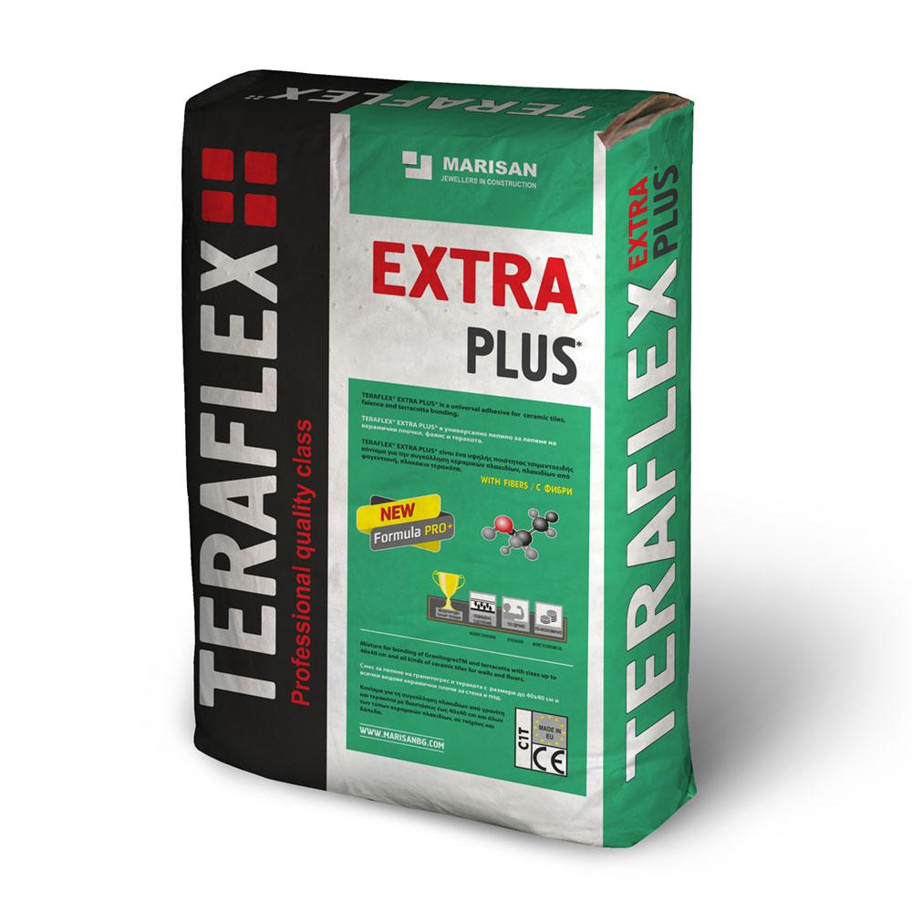Лепило за фаянс и теракота ТЕРАФЛЕКС® EXTRA 5-25 кг