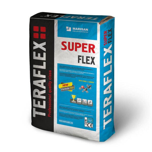 Флексово лепило за плочки ТЕРАФЛЕКС® SUPER FLEX 5-25 кг