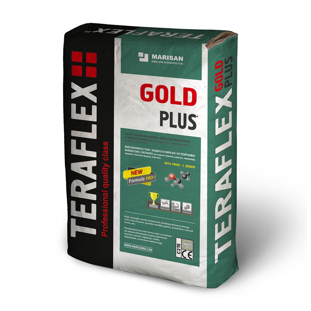 Лепило за камък и облицовки ТЕРАФЛЕКС® GOLD - бяло 25кг