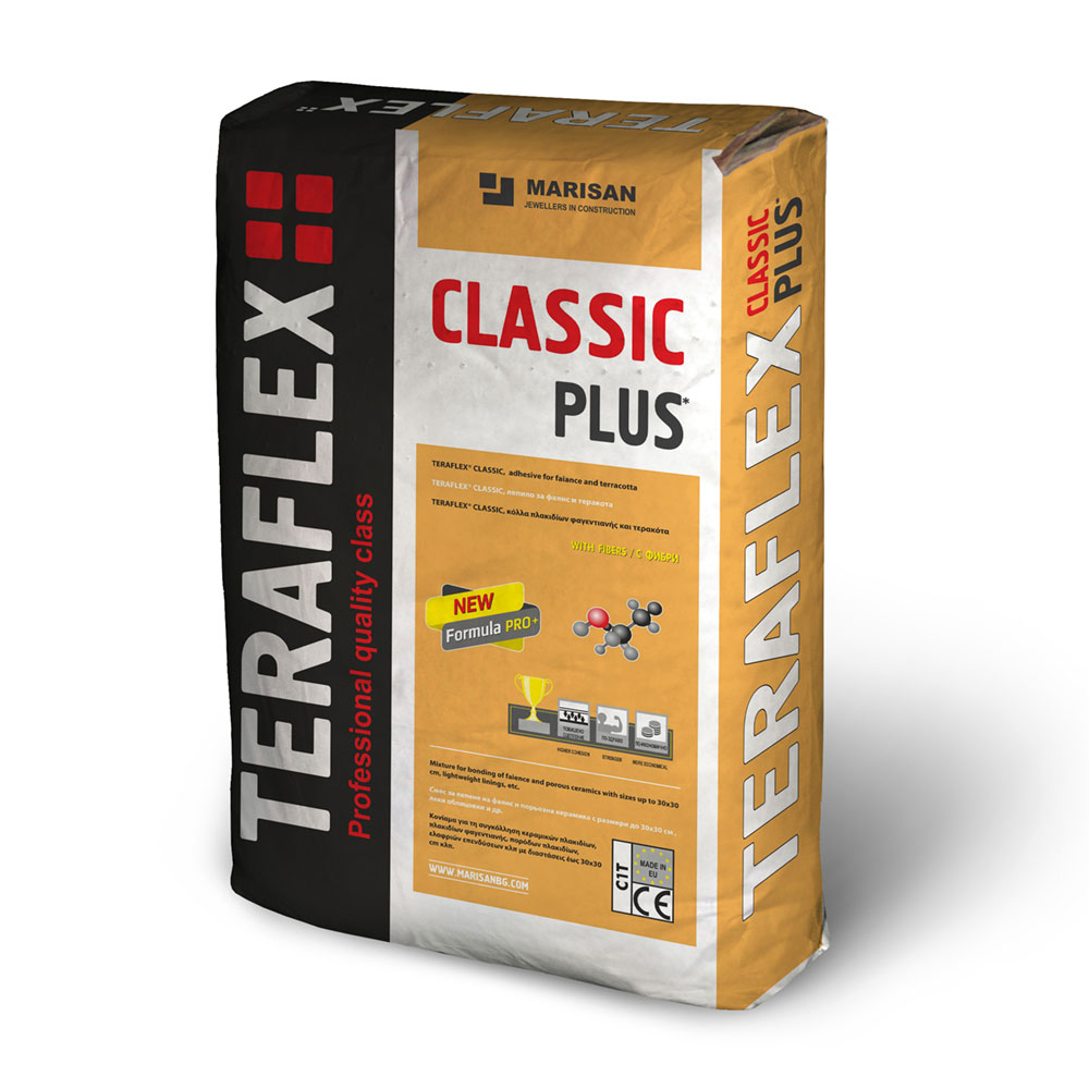 Лепило за керамика ТЕРАФЛЕКС® CLASSIC - 25 кг