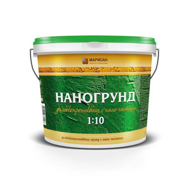 Дълбокопроникващ грунд НАНОГРУНД® 1-5 кг