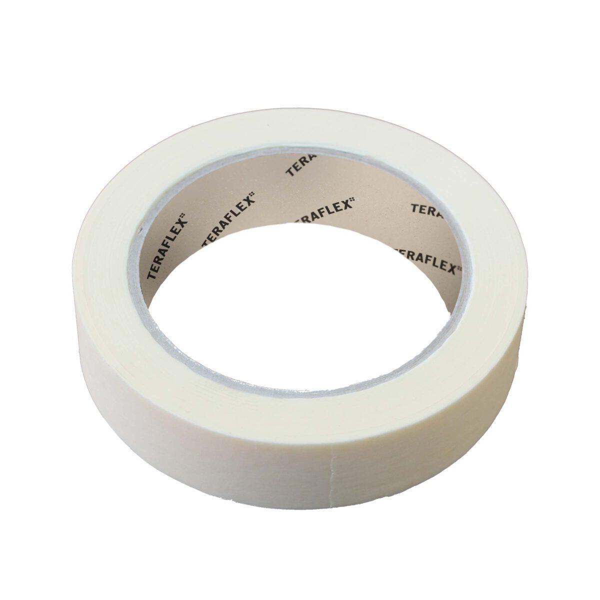 Бяло хартиено тиксо 24 мм - 50 м