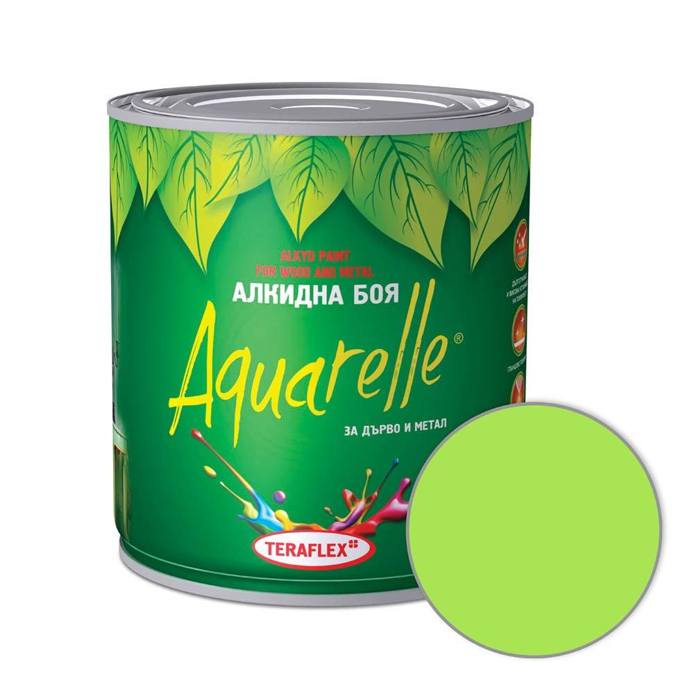 Боя за метал и дърво AQUARELLE - резеда 0,600-17 л