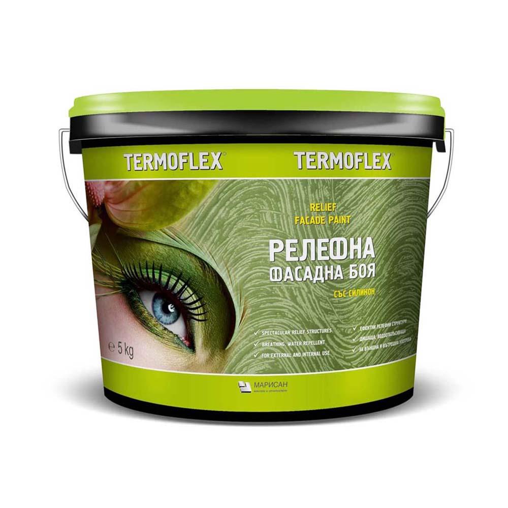 Релефна боя за фасади ТЕРМОФЛЕКС® 5-20 кг