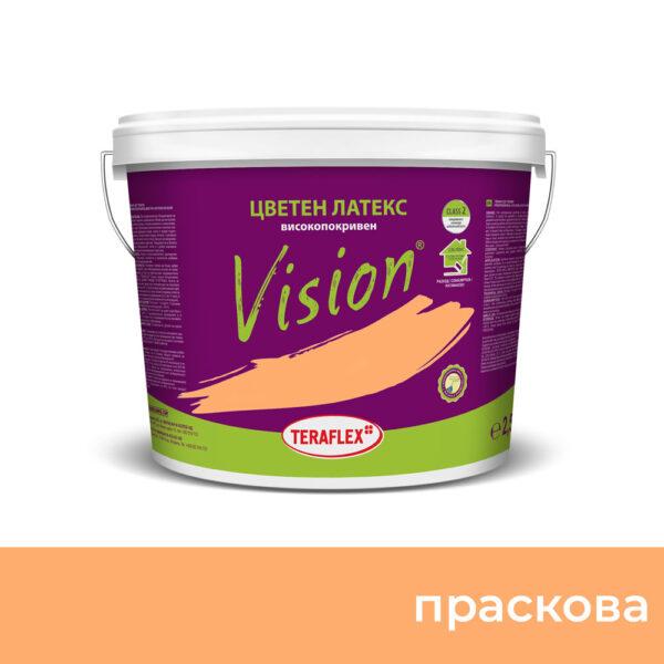 Боя за стени  VISION - праскова - 2,5 л