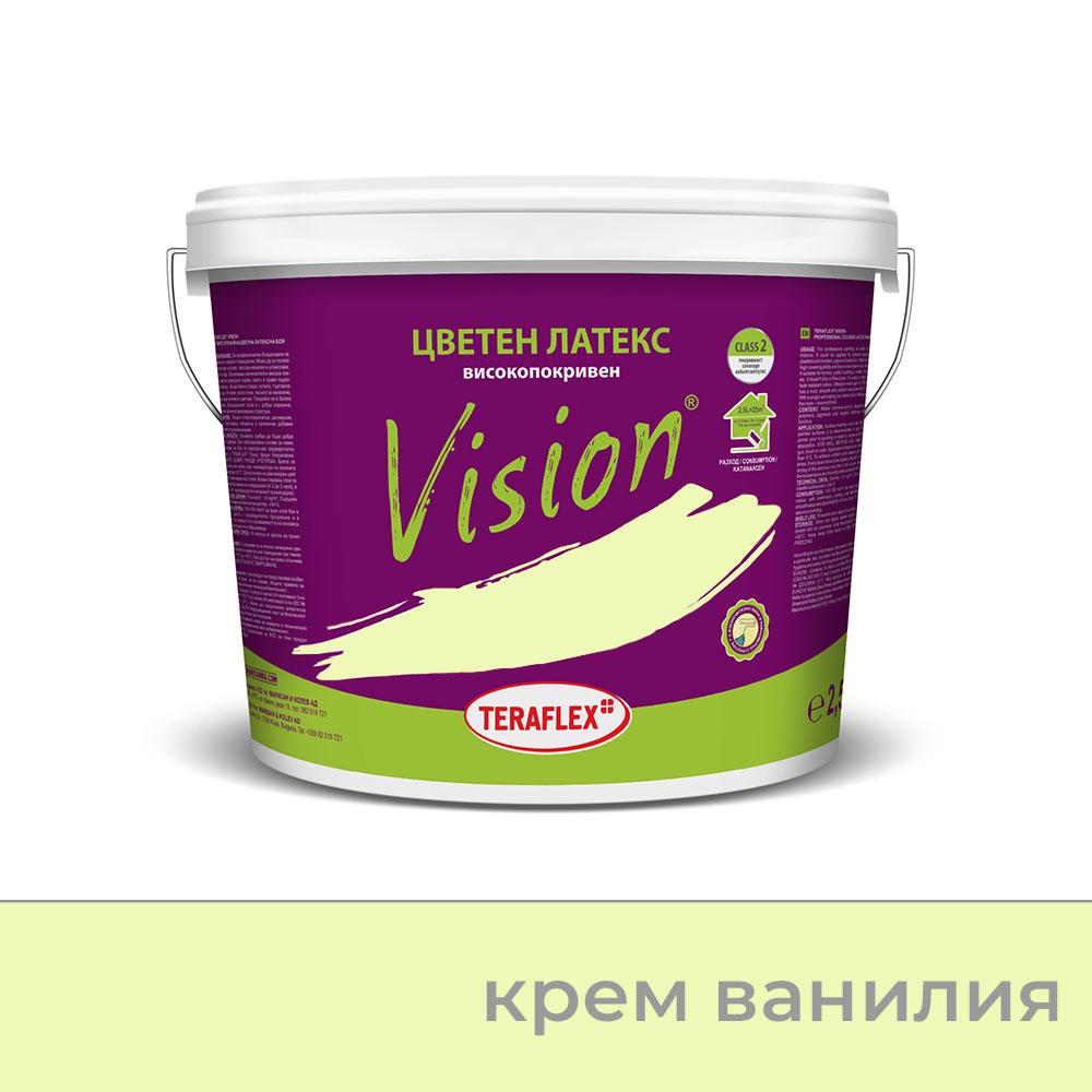 Боя за стени  VISION - крем ванилия - 2,5 л