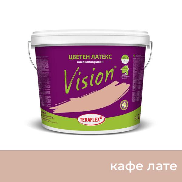 Боя латекс VISION - кафе лате - 2,5 л