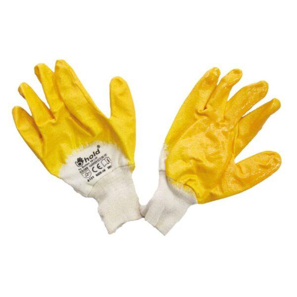 Работни ръкавици с нитрил