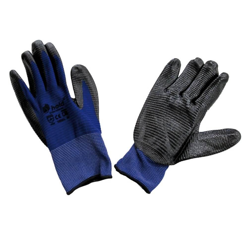 Нитрилни работни ръкавици от полиестер