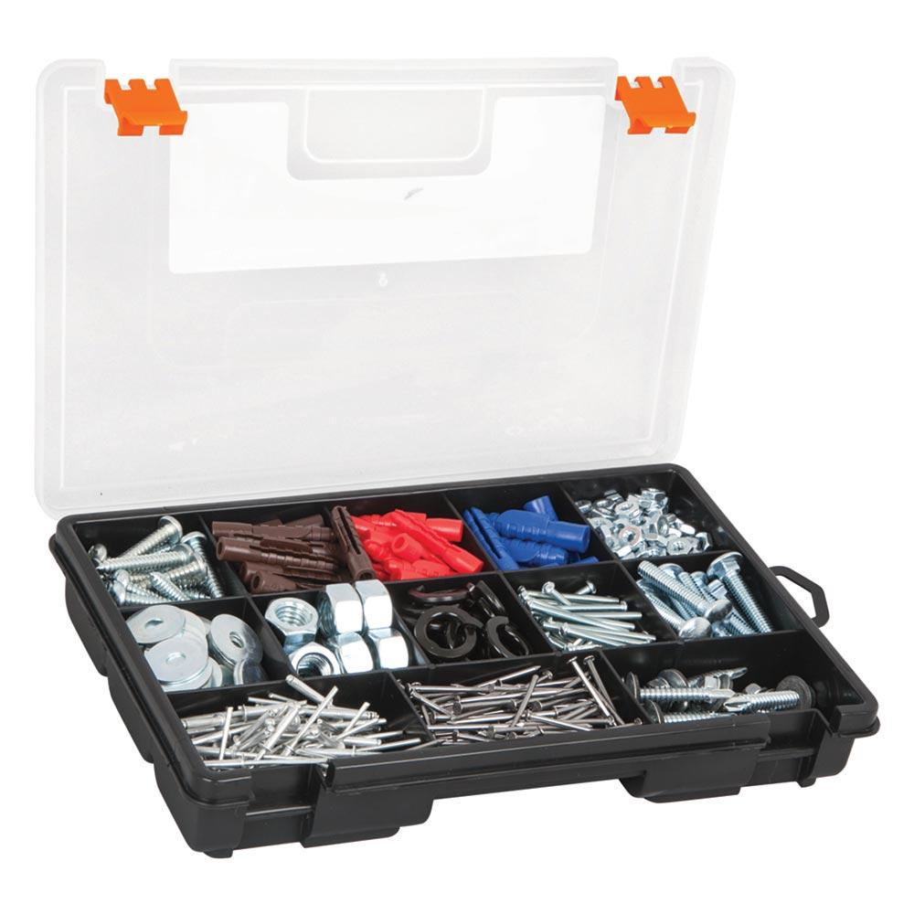 Пластмасова кутия - органайзър - 13 отделения