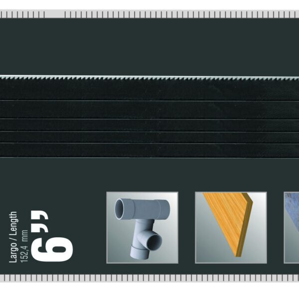 Резервни ножове за ножовка - 5 бр