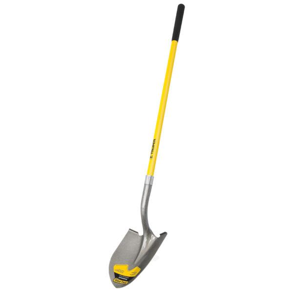 Дълга обла лопата - дръжка от фибростъкло