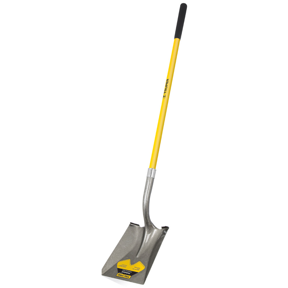 Правоъгълна лопата с дръжка от фибростъкло (2)