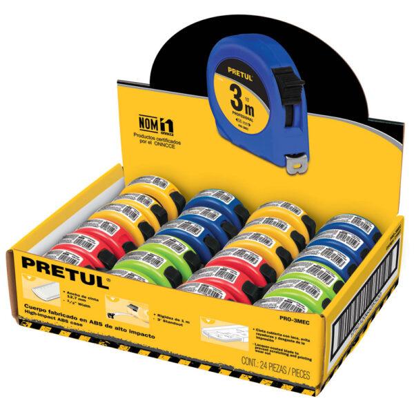 Комплект цветни ролетки - 3 м - 24 бр