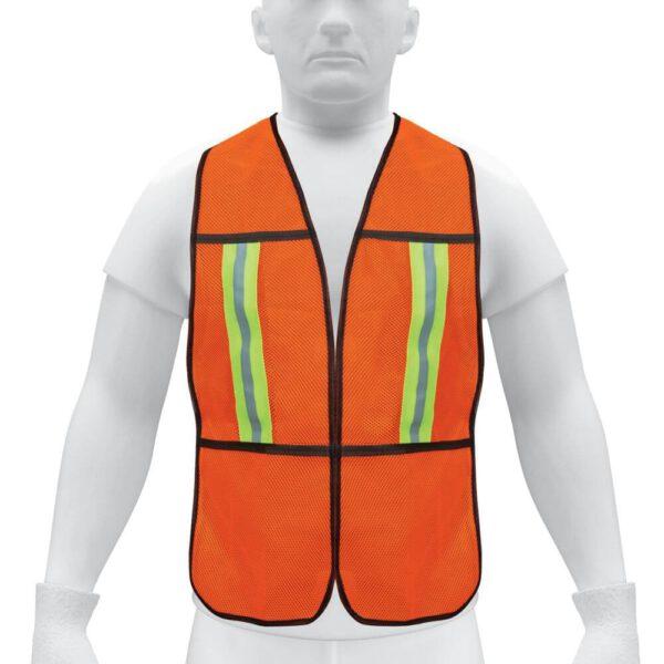 Светллотразителна предпазна жилетка - оранжева