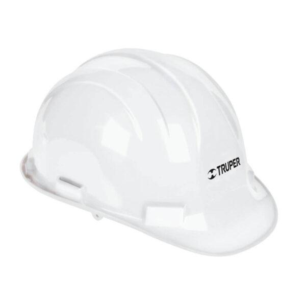 Бяла предпазна каска -  електроустойчива