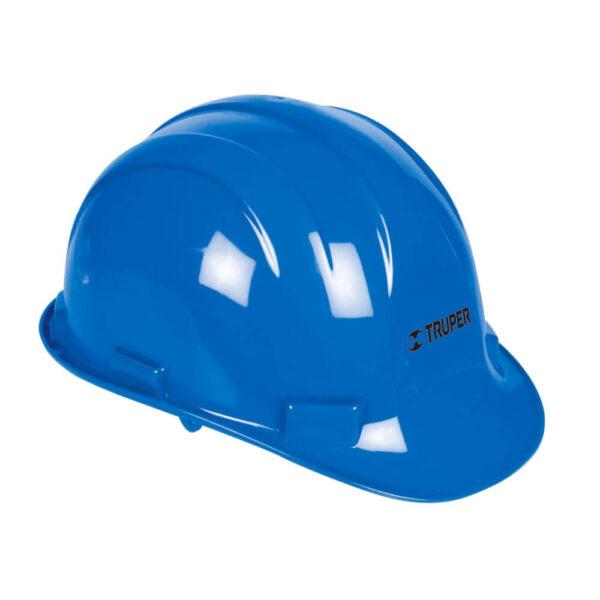 Синя предпазна каска -  електроустойчива