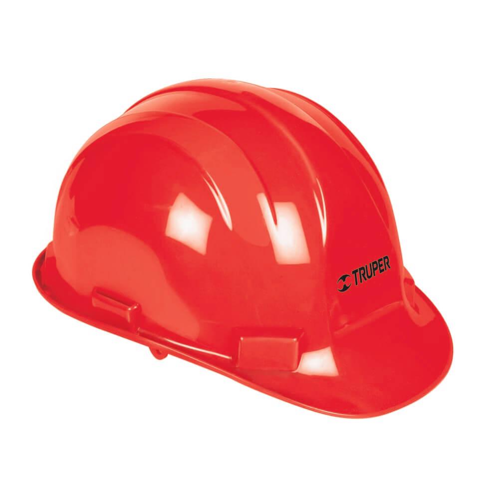 Червена предпазна каска -  електроустойчива