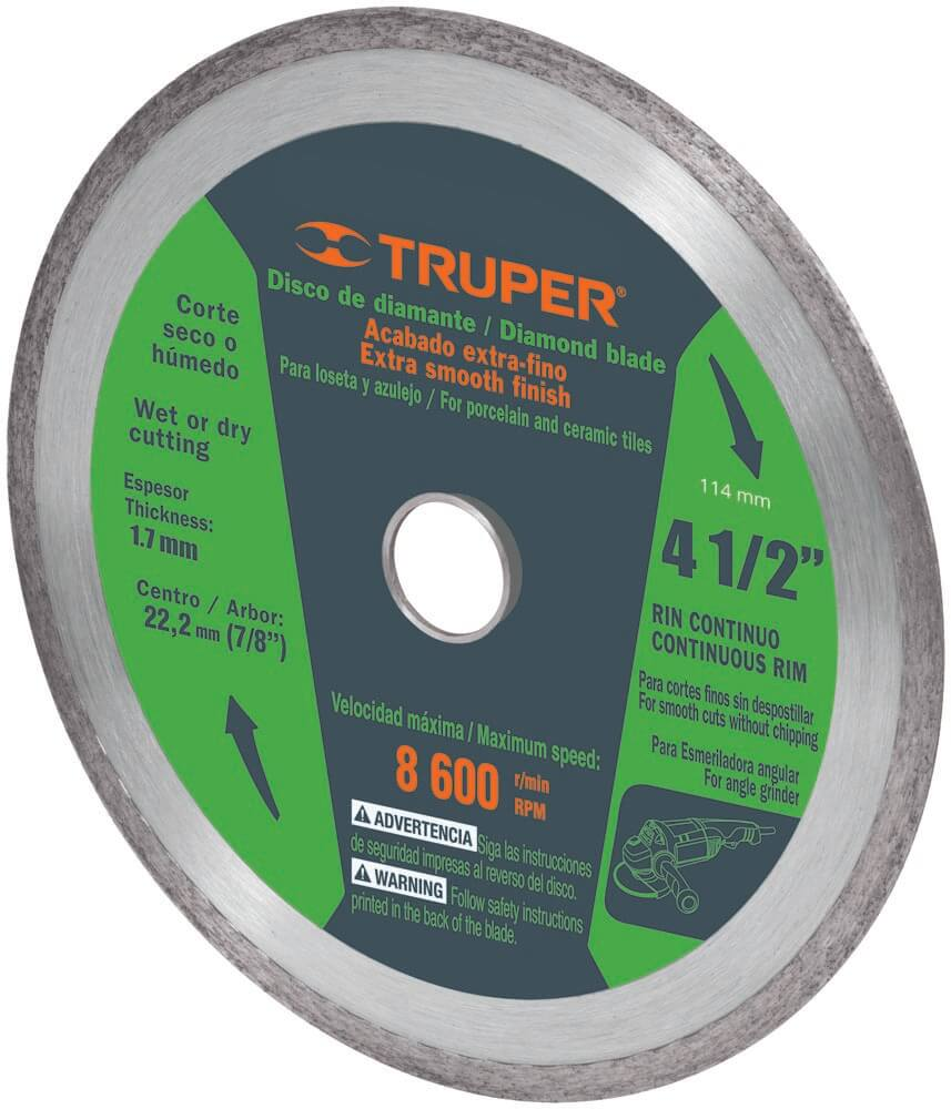 Диамантен режещ диск за плочки- Ø114 мм