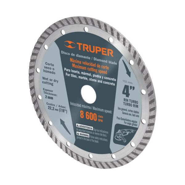 Диамантен диск за рязане - Ø102 мм