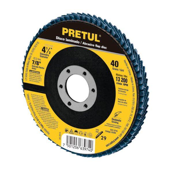 Ламелен диск за шлайфане на дърво и метал - Ø114 мм