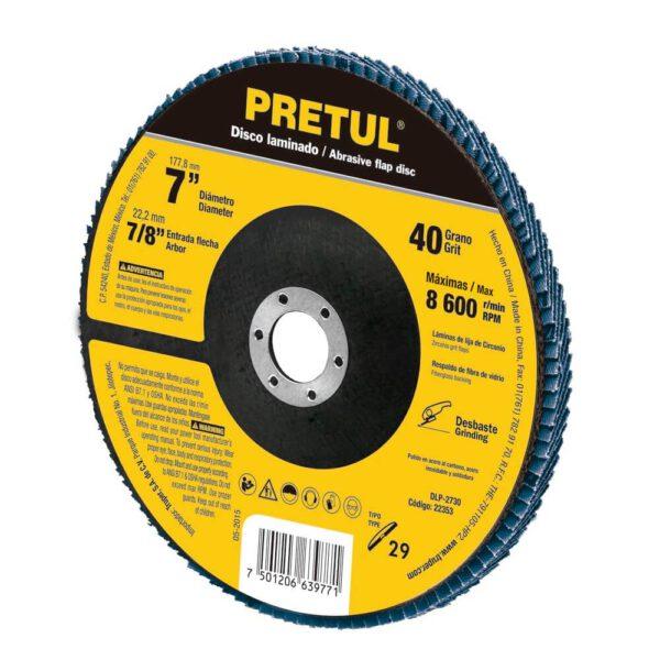 Ламелен диск шлайфащ Р36 - Ø178 мм