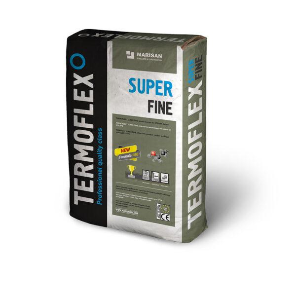 Фина бяла циментова шпакловка ТЕРMОФЛЕКС SUPER FINE - 25 кг