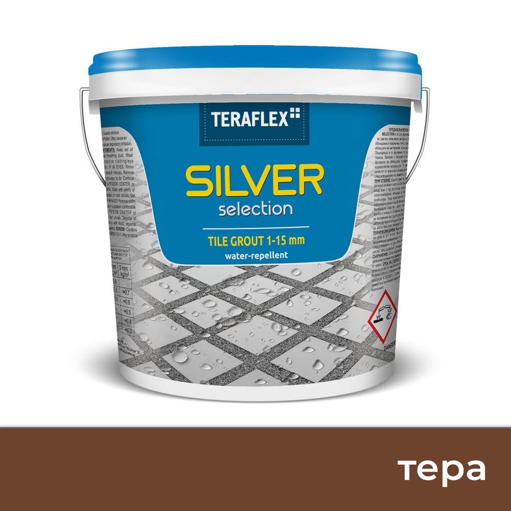 Фурираща смес  SILVER SELECTION, 1-15 мм - Цвят Тера