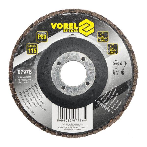 Ламелен диск за шлайфане P80 - Ø115 мм