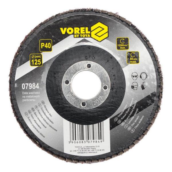 Ламелен диск за дърво и метал P40 - Ø125 мм