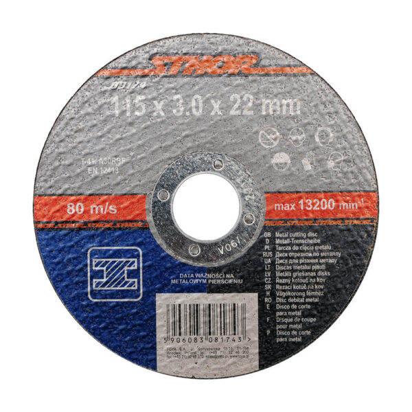 Диск за метал 115x3.0x22 мм
