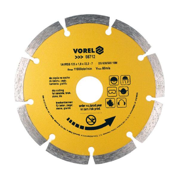 Диамантен диск за бетон и тухла Ø-125 мм