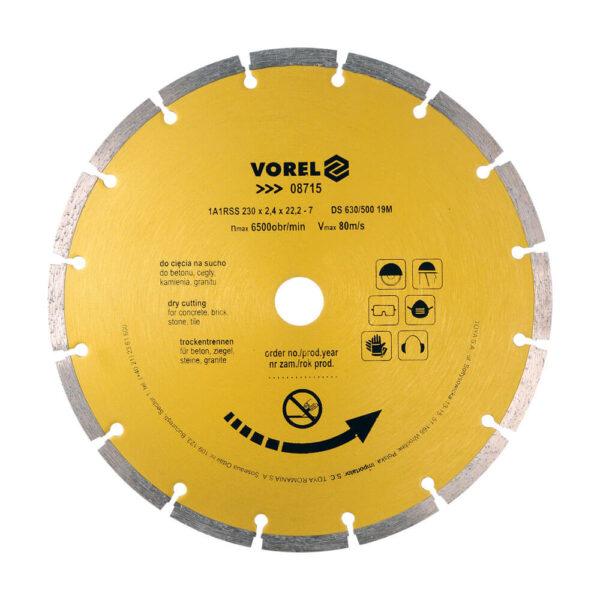 Диамантен диск за бетон и тухла Ø-210 мм
