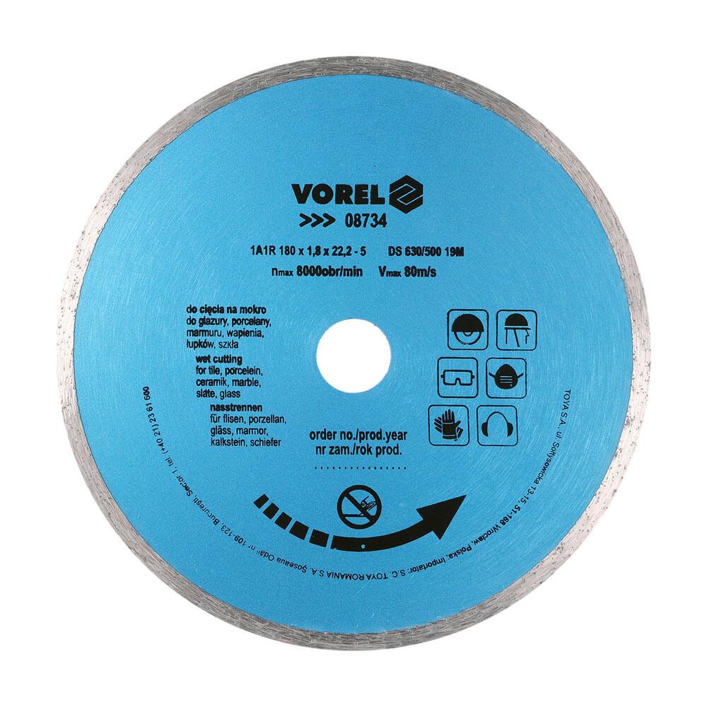 Диамантен диск за рязане на керамика Ø-180 мм