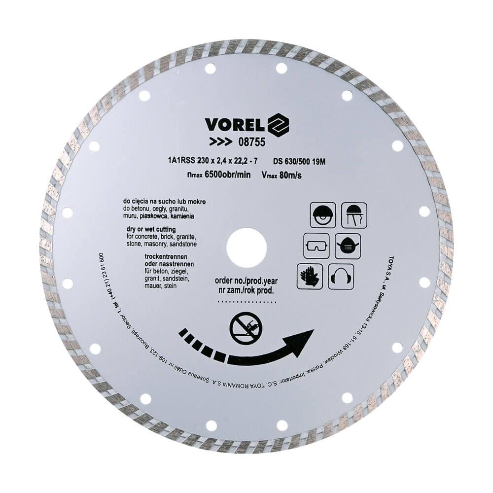 Диамантен диск за зидария TURBO Ø-210 мм