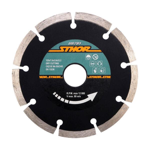 Диамантен диск за бетон, сегментиран Ø-125 мм