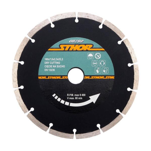 Диамантен диск за бетон, сегментиран Ø-180 мм