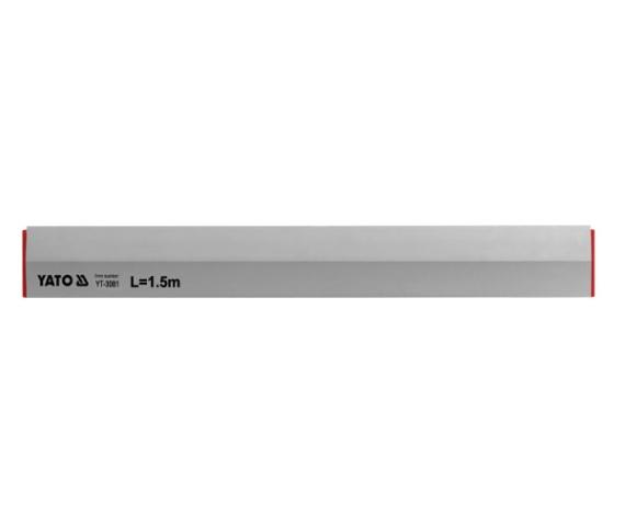 Алуминиев мастар, трапезовиден - 1,5 м