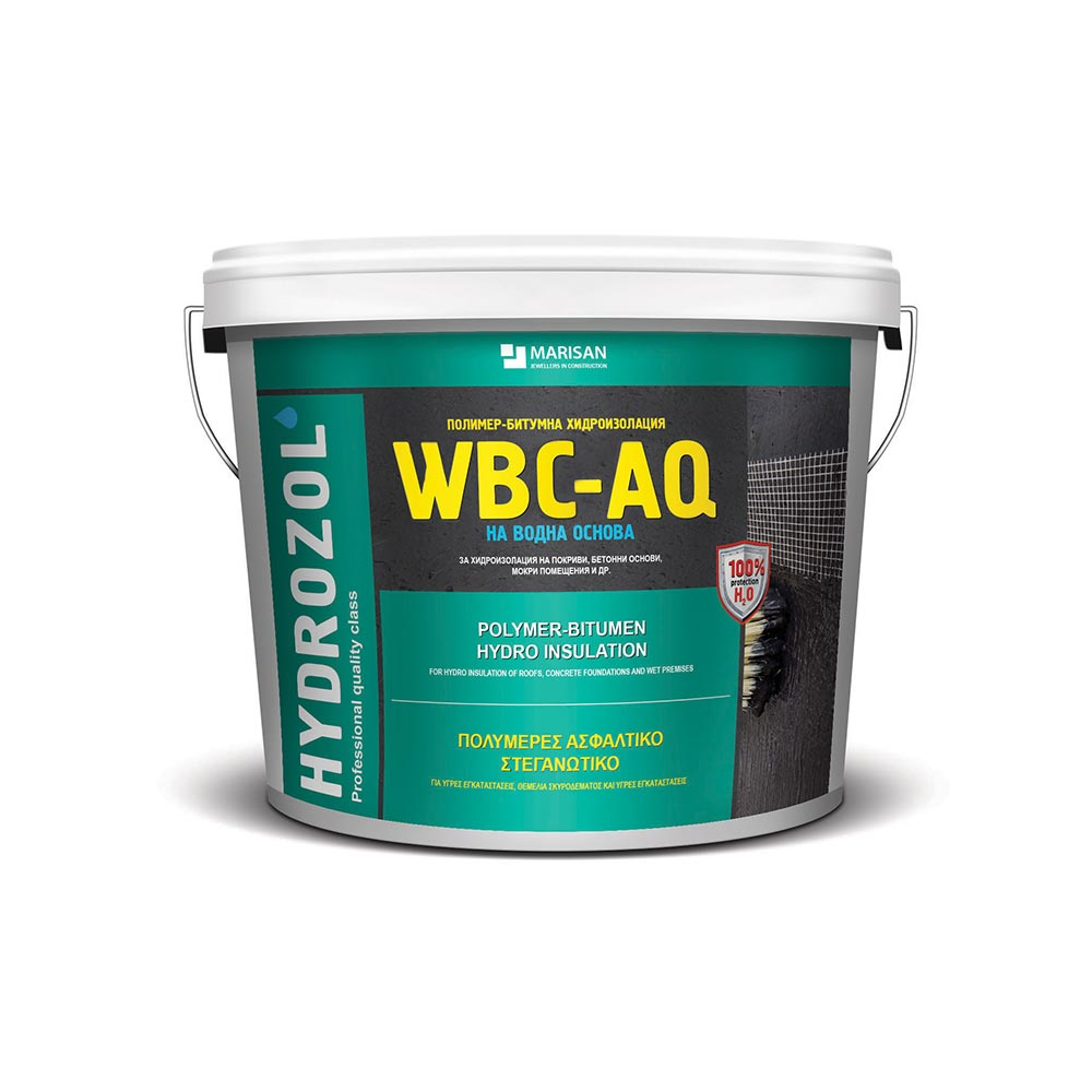 Полимер-битумна хидроизолация ХИДРОЗОЛ WBC-AQ