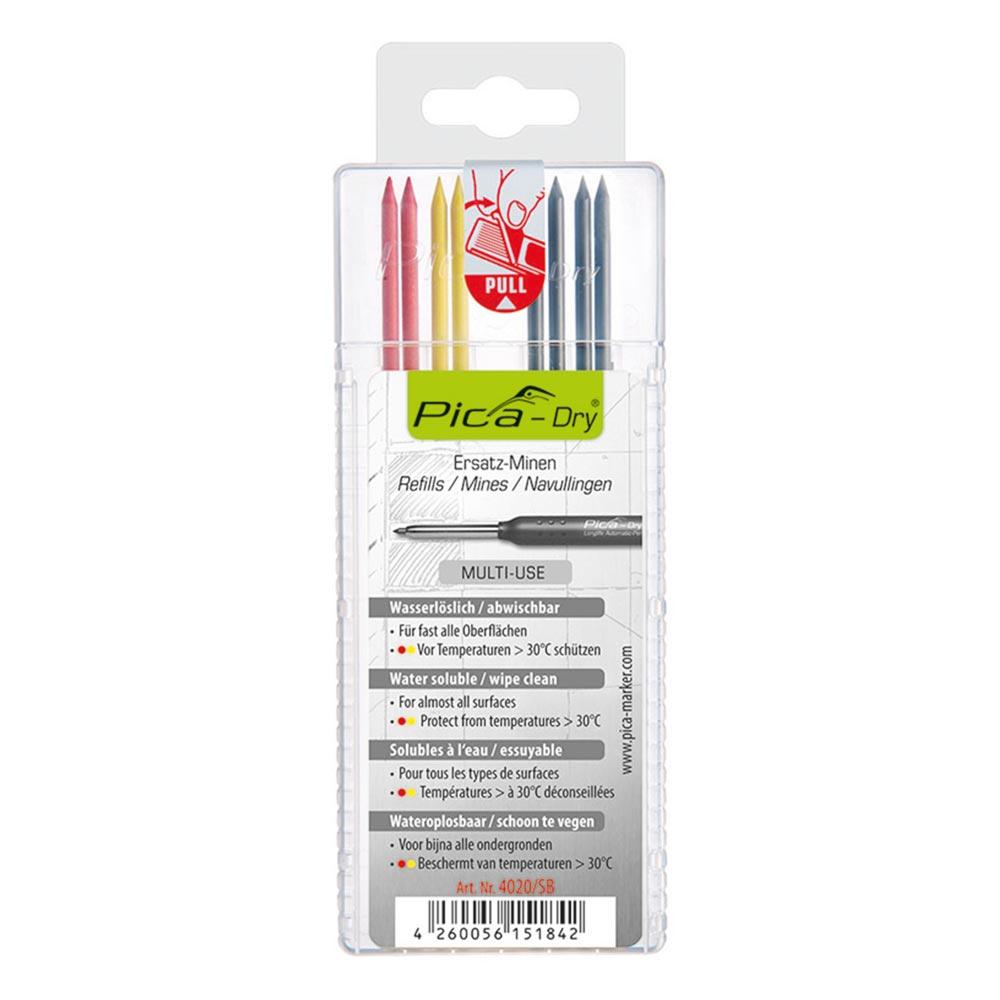 Цветни пълнители за автоматичен молив-маркер