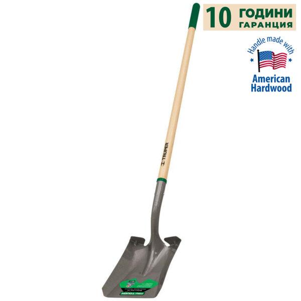 Правоъгълна лопата TRUPER 10 YEAR