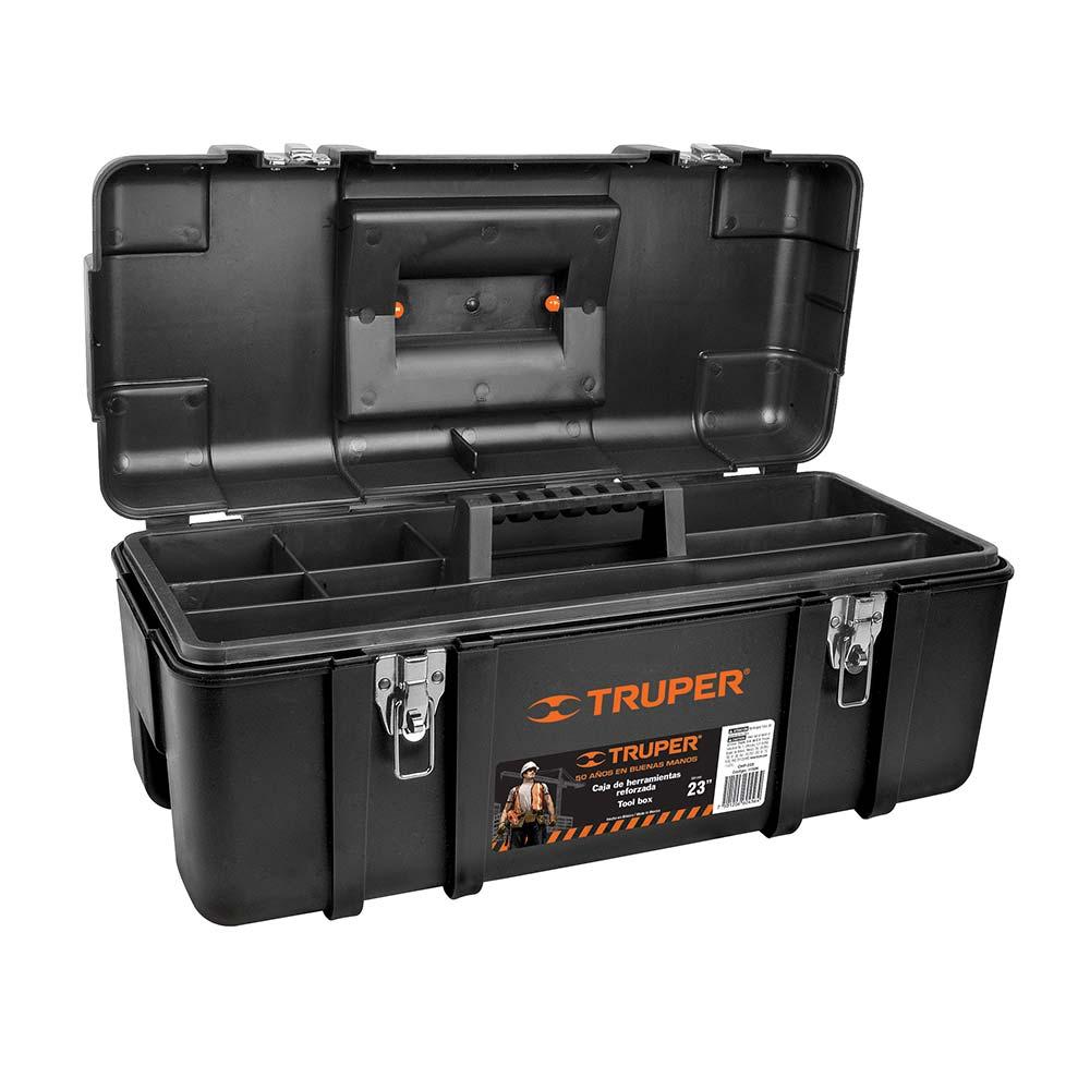 Куфар за инструменти с метални закопчалки - 58х27х25 см