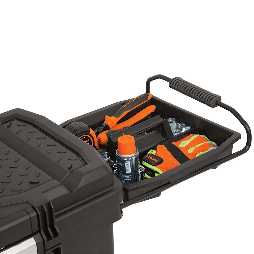Куфар за инструменти на колела с телескопична дръжка 3
