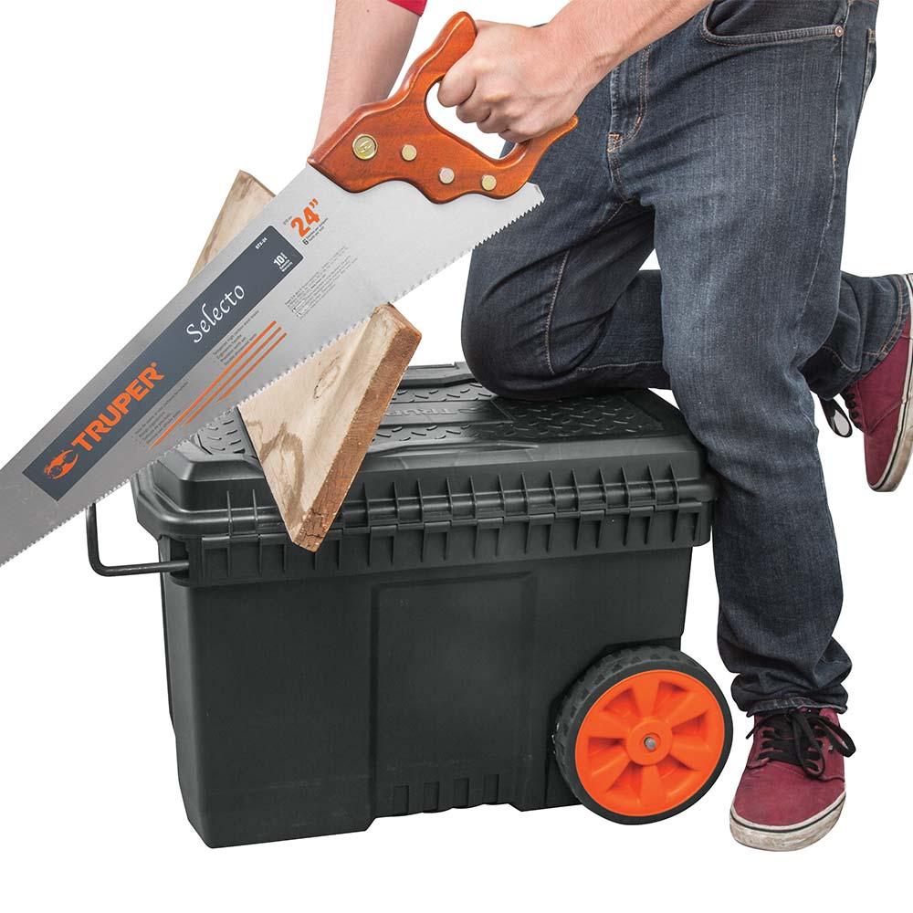 Куфар за инструменти на колела с телескопична дръжка 4
