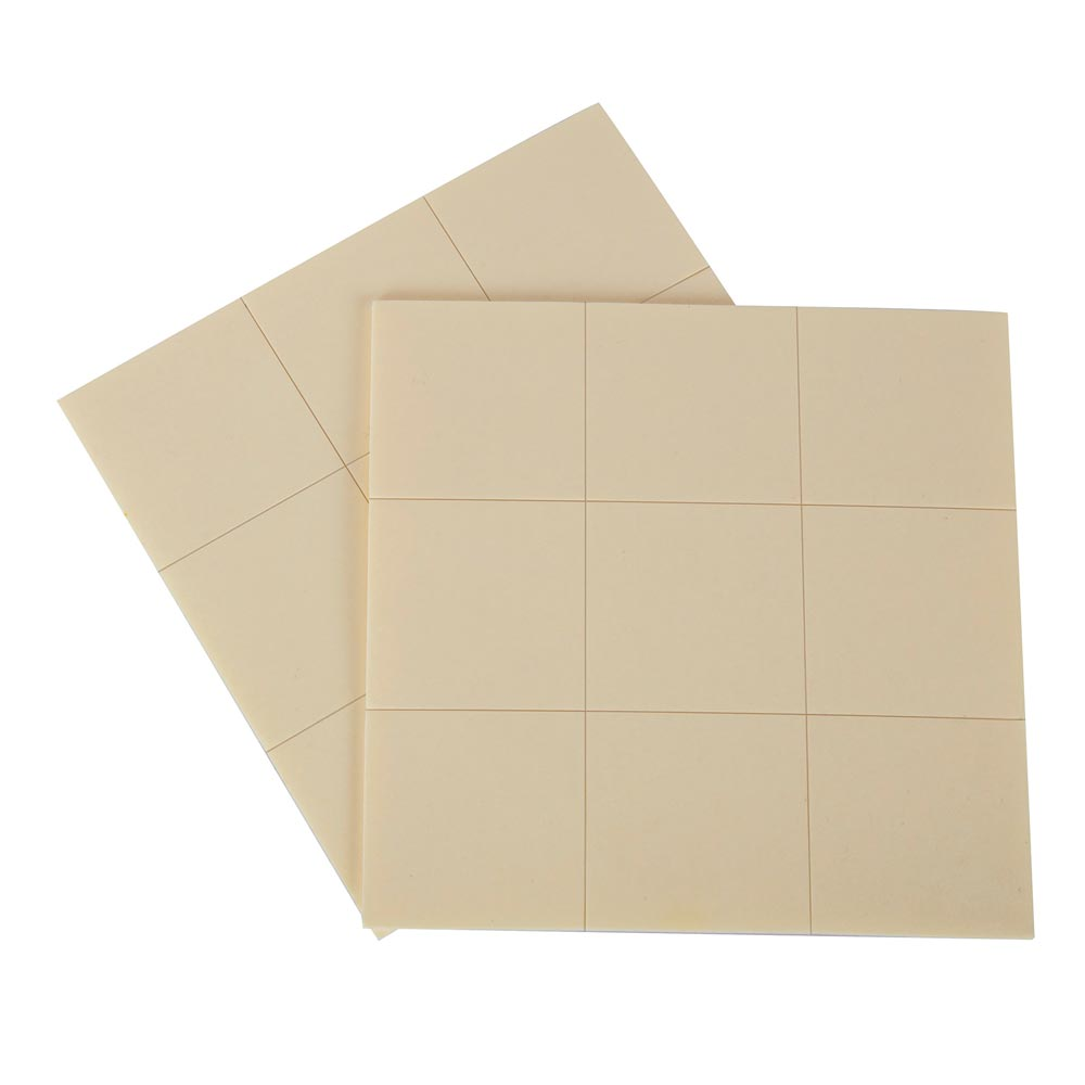 Монтажни лепенки, квадратни 18 бр