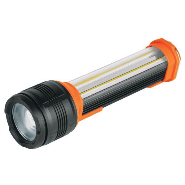 Презареждащ се фенер, 290 lm със странична свелина