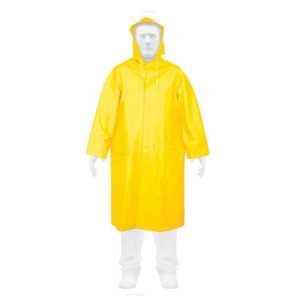 Дъждобран с качулка, PVC р-р XL